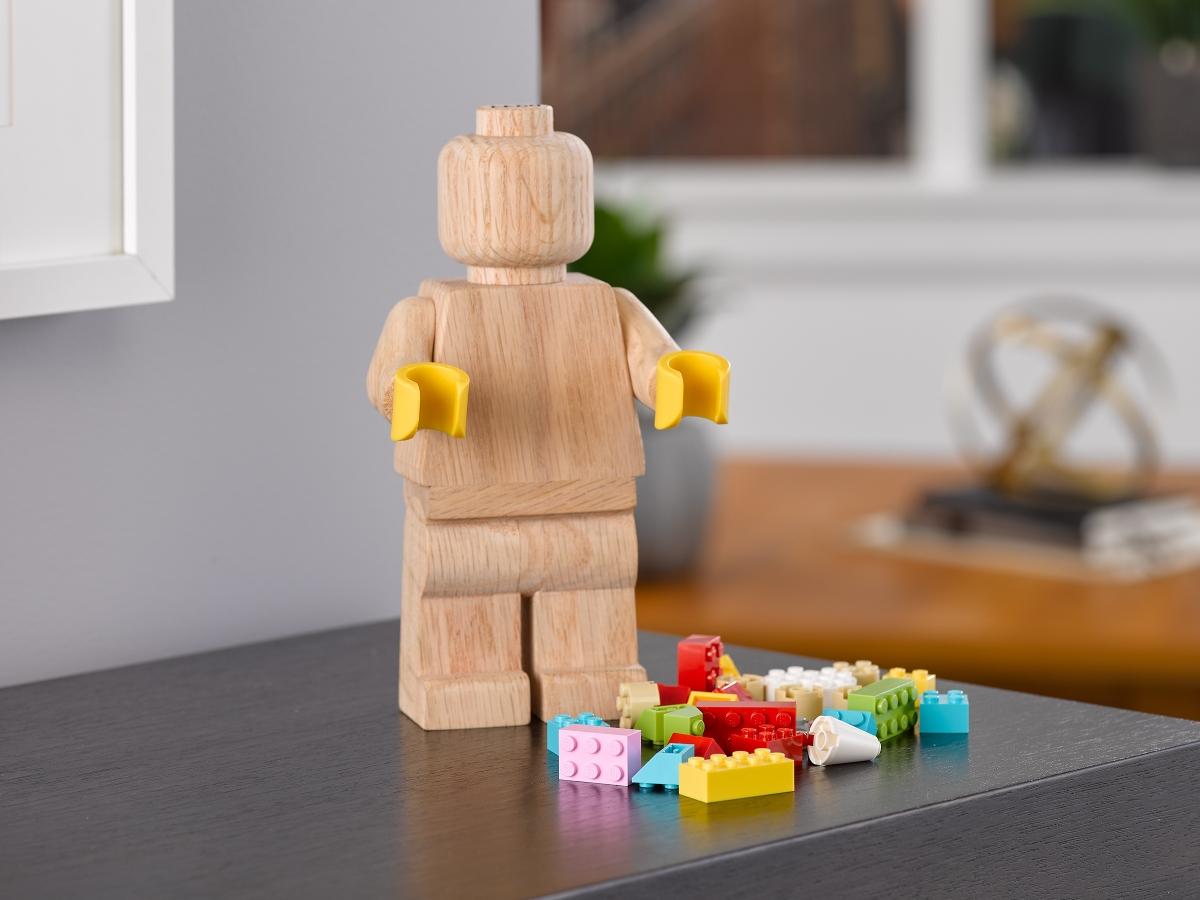 drevena lego 853967 minifigurka
