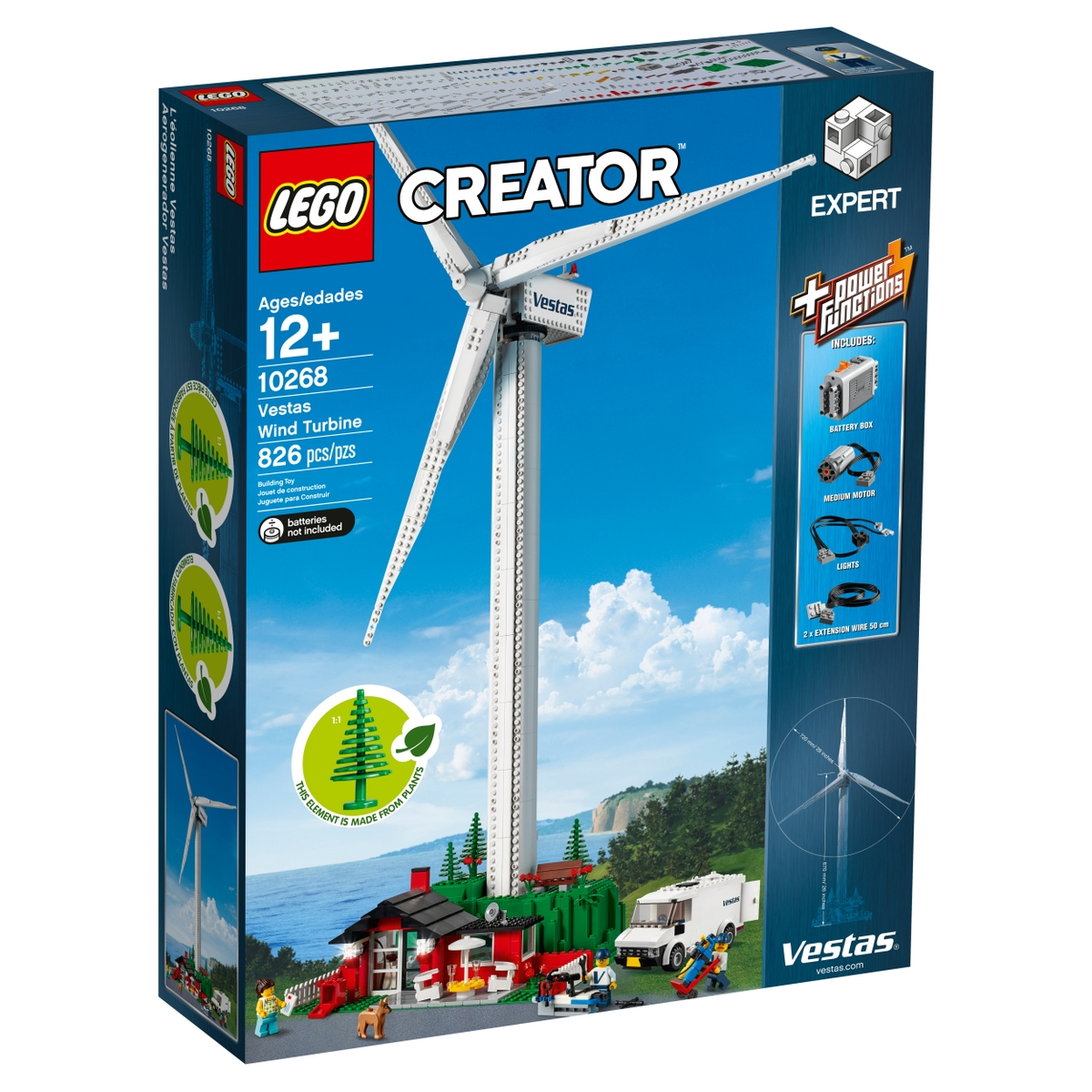 lego 10268 vetrna turbina vestas