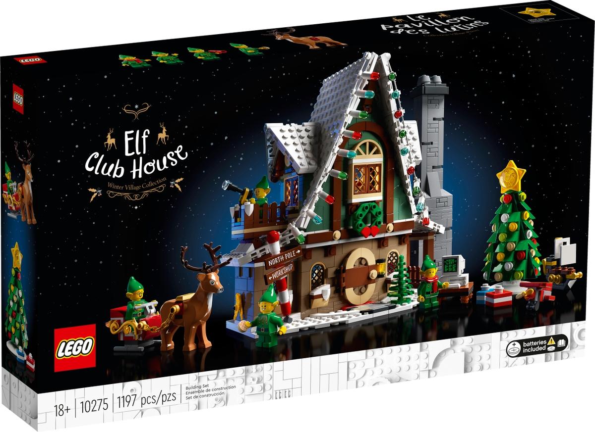 lego 10275 elfi domek