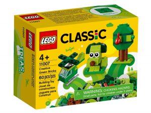 lego 11007 zelene kreativni kosticky