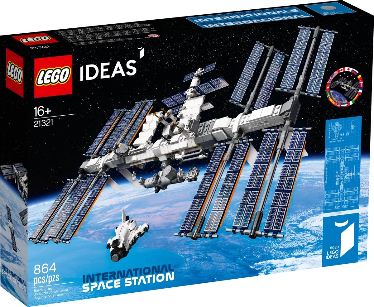 lego 21321 mezinarodni vesmirna stanice