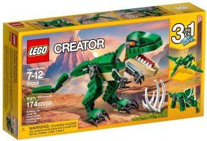 lego 31058 uzasny dinosaurus