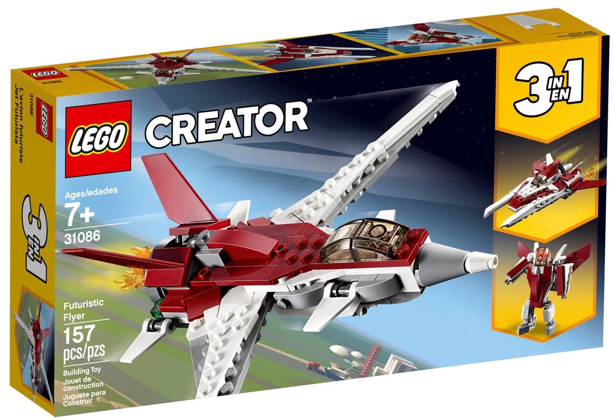 lego 31086 futuristicky letoun