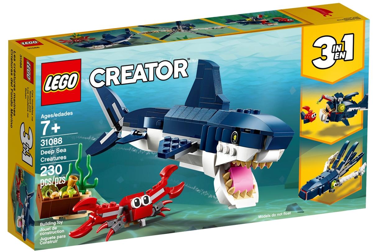 lego 31088 tvorove z hlubin mori