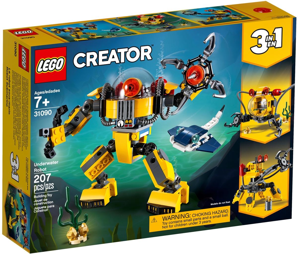 lego 31090 podvodni robot