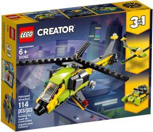 lego 31092 dobrodruzstvi s helikopterou