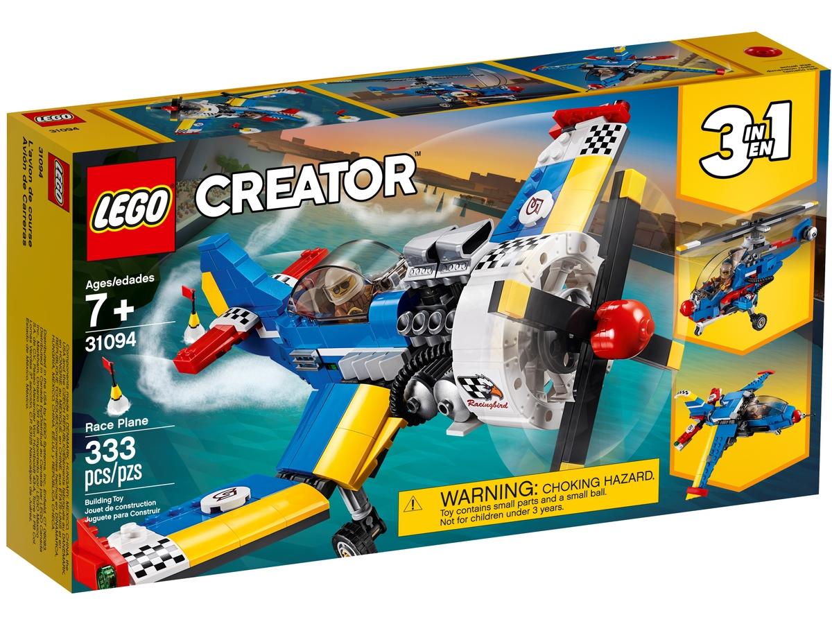 lego 31094 zavodni letadlo
