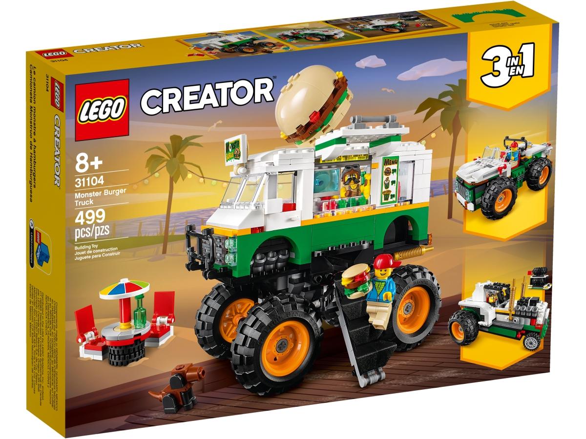 lego 31104 hamburgerovy monster truck