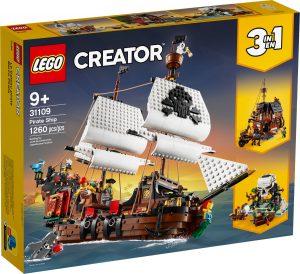 lego 31109 piratska lod