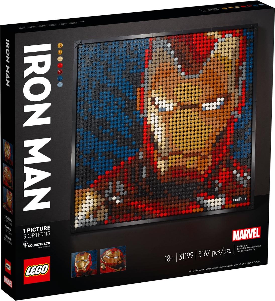 lego 31199 iron man od marvelu