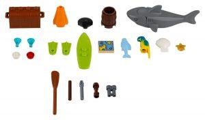 lego 40341 extra morske doplnky