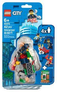 lego 40372 sada doplnku s minifigurkami policie