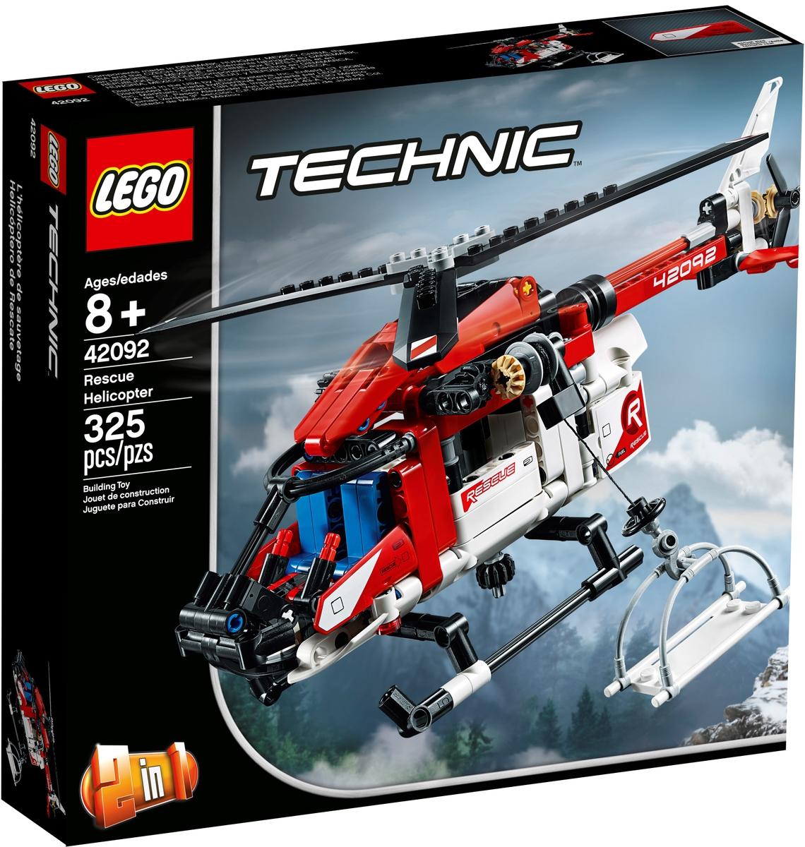 lego 42092 zachranarsky vrtulnik