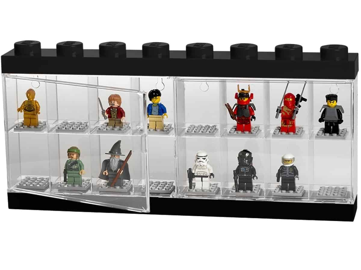 lego 5005375 vitrina pro 16 minifigurek
