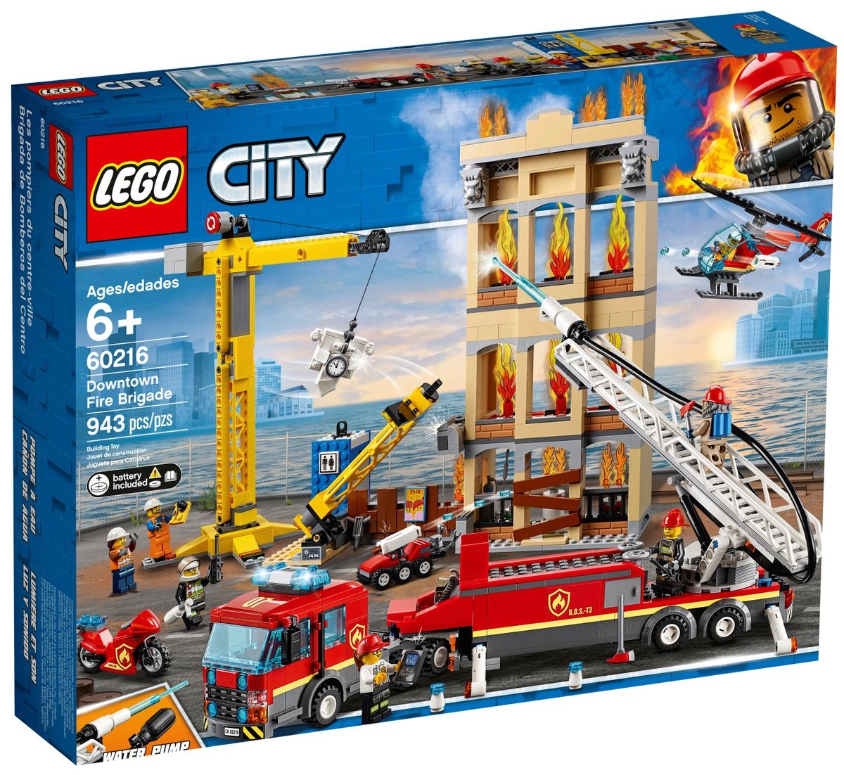 lego 60216 hasici v centru mesta