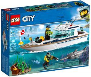lego 60221 potapecska jachta