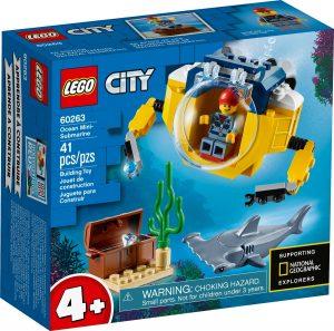 lego 60263 oceanska mini ponorka