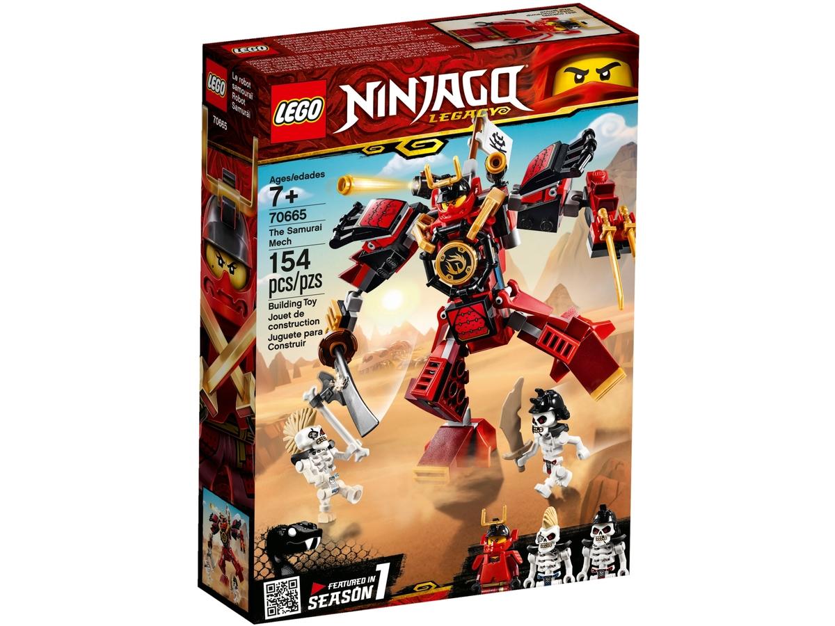 lego 70665 samurajuv robot