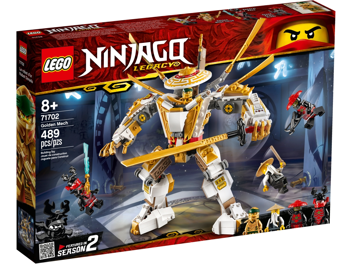 lego 71702 zlaty robot