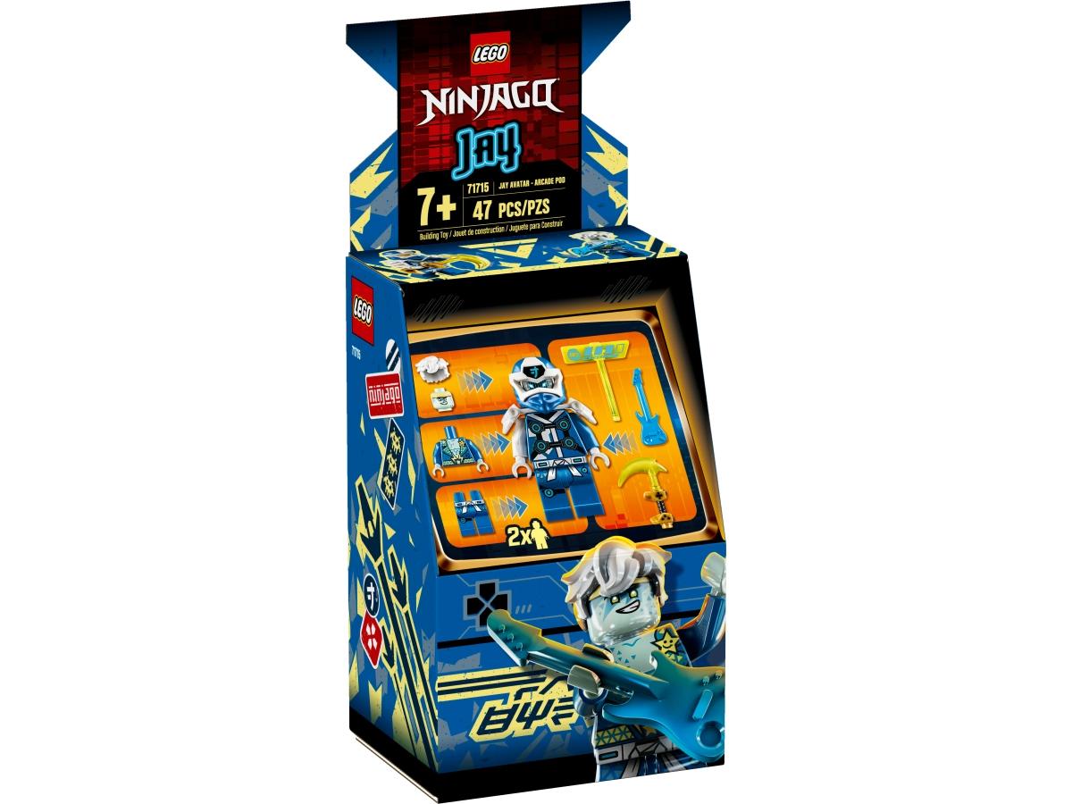 lego 71715 jayuv avatar arkadovy automat
