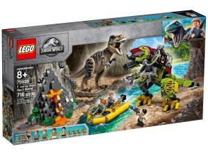 lego 75938 t rex vs dinorobot