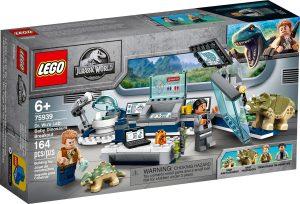 lego 75939 laborator dr wu utek dinosaurich mladat