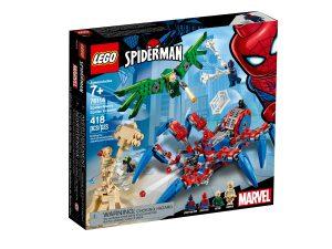 lego 76114 spider manuv pavoukolez
