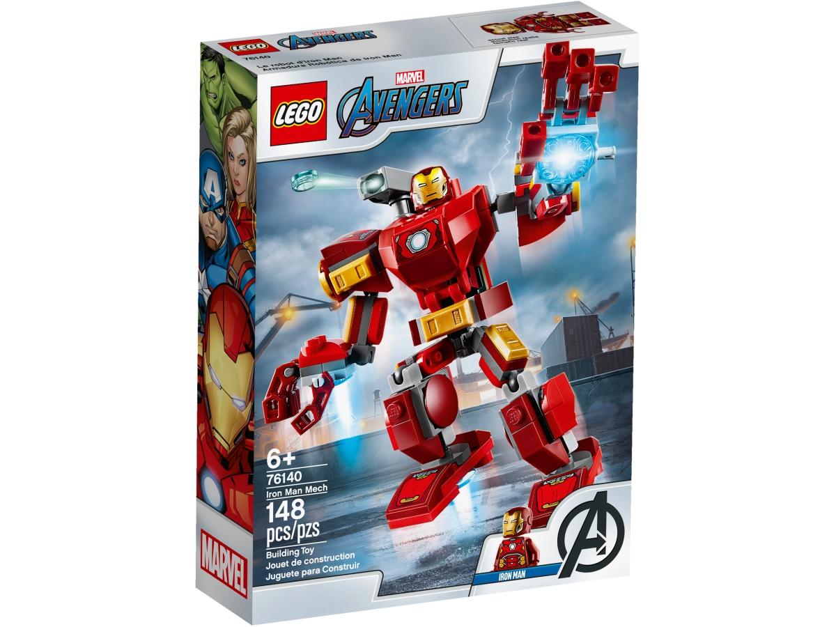lego 76140 iron manuv robot