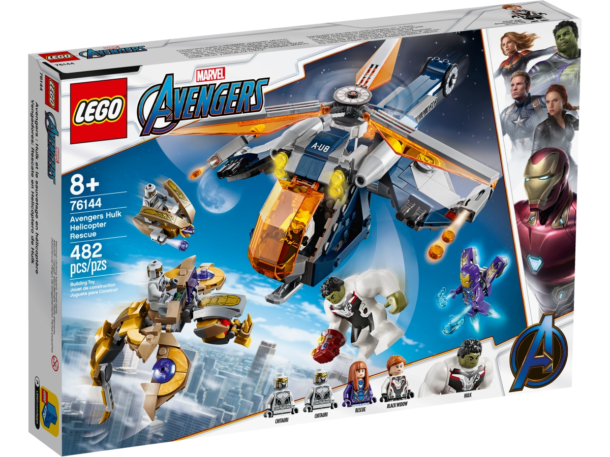 lego 76144 avengers hulk a vysadek vrtulnikem