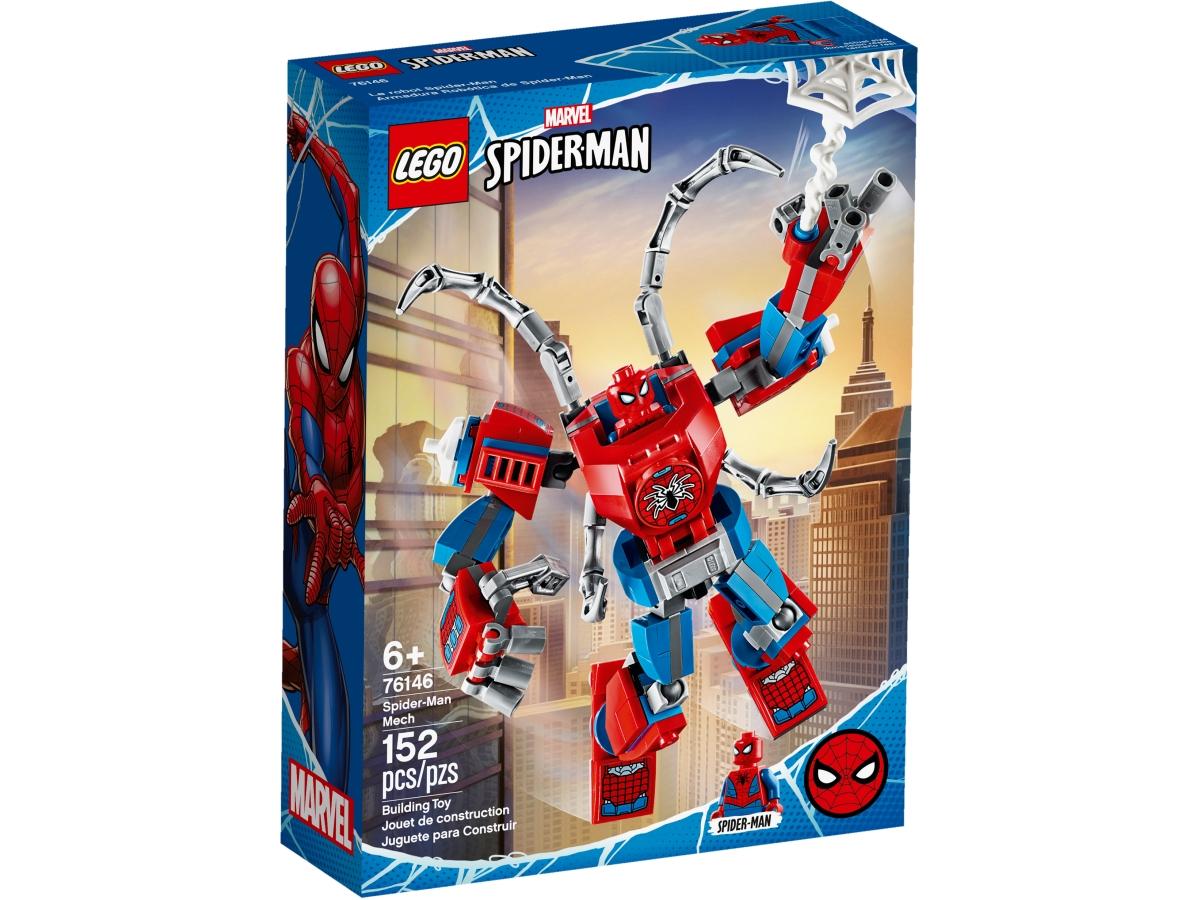 lego 76146 spider manuv robot