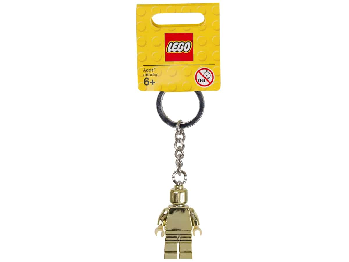 lego 850807 privesek na klice se zlatou minifigurkou