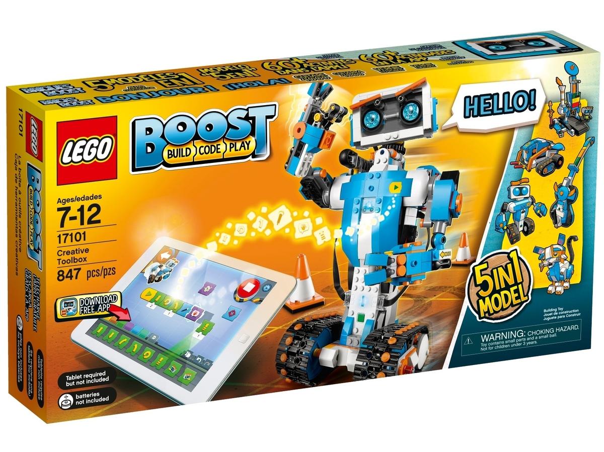 tvorivy box lego 17101 boost