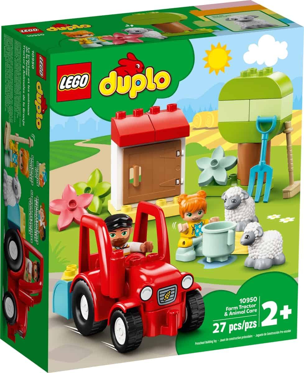 lego 10950 traktor a zviratka z farmy