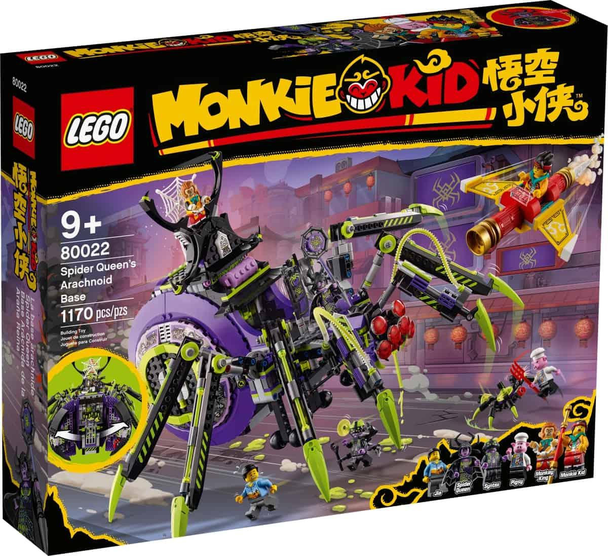 lego 80022 pavouci zakladna spider queen