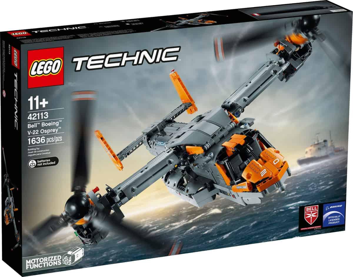 LEGO 42113 Bell Boeing V-22 Osprey