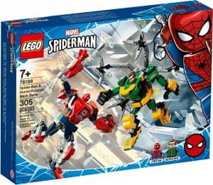 lego 76198 spider man a doctor octopus souboj robotu
