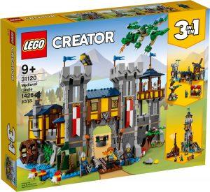 lego 31120 stredoveky hrad