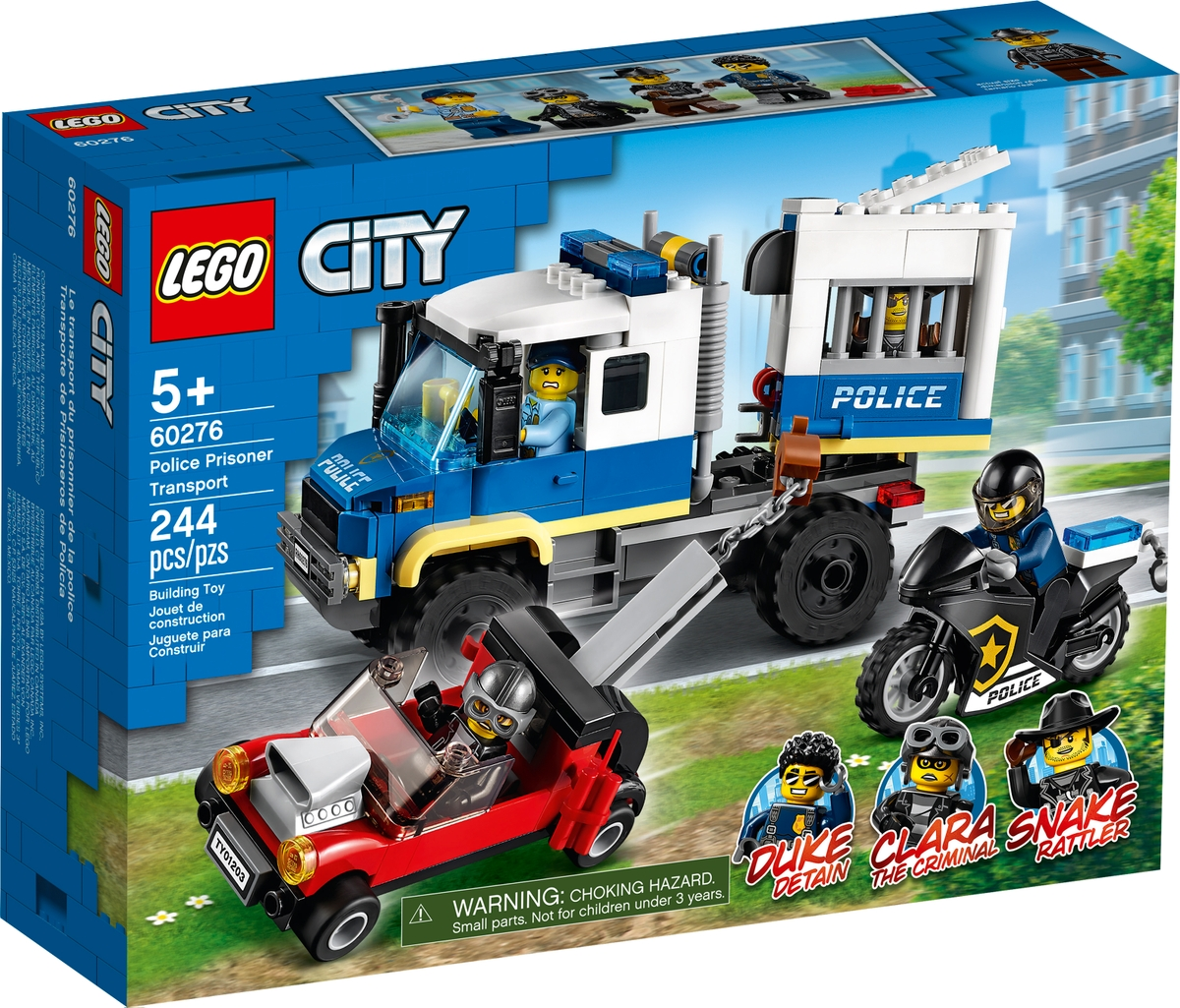 lego 60276 vezensky transport