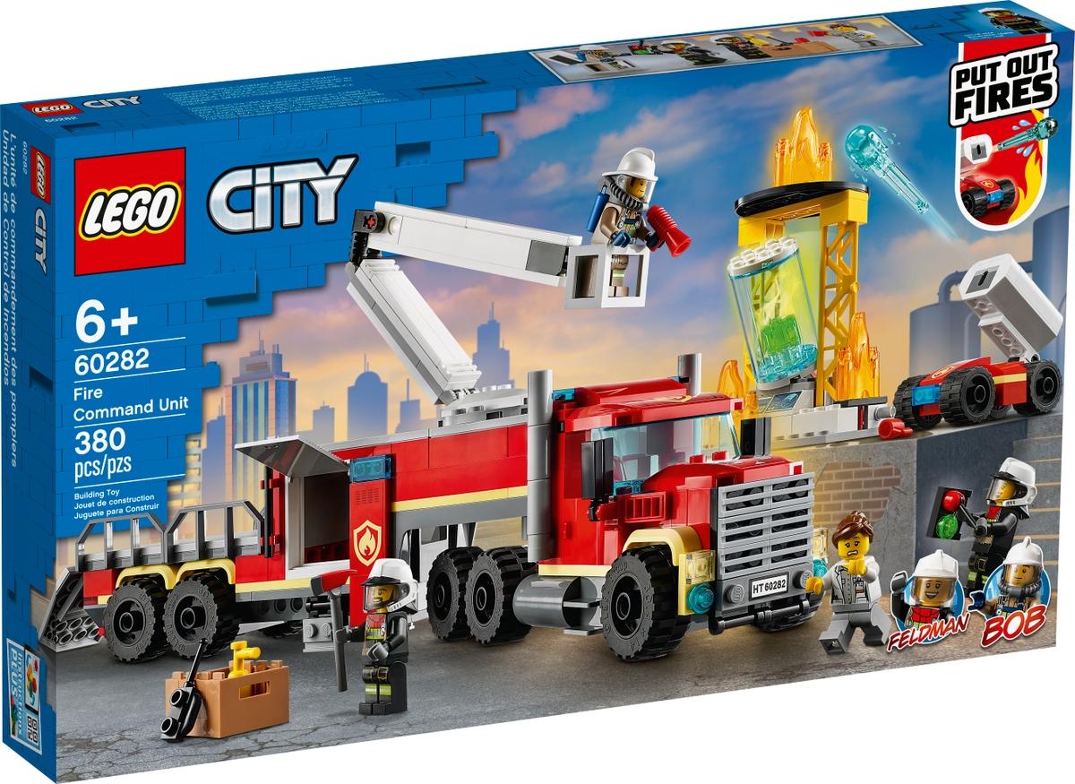 lego 60282 velitelska jednotka hasicu