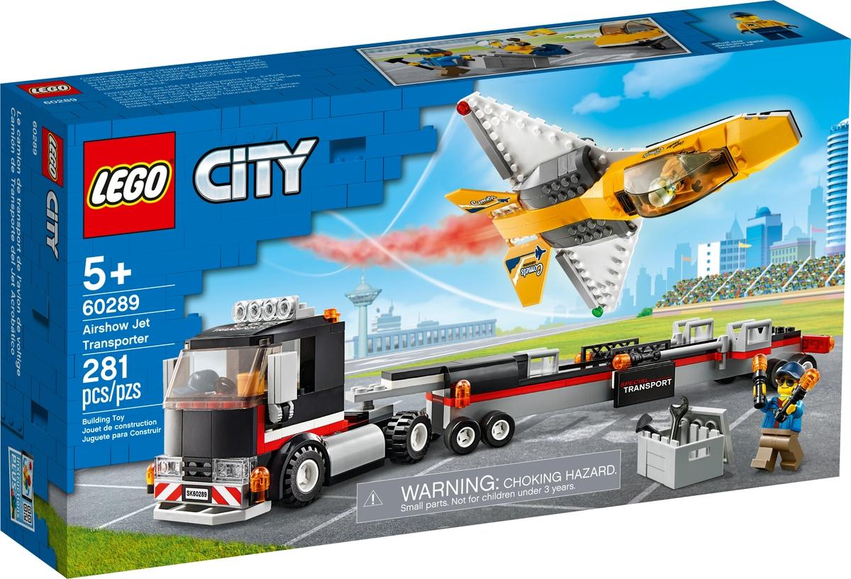 lego 60289 transport akrobatickeho letounu