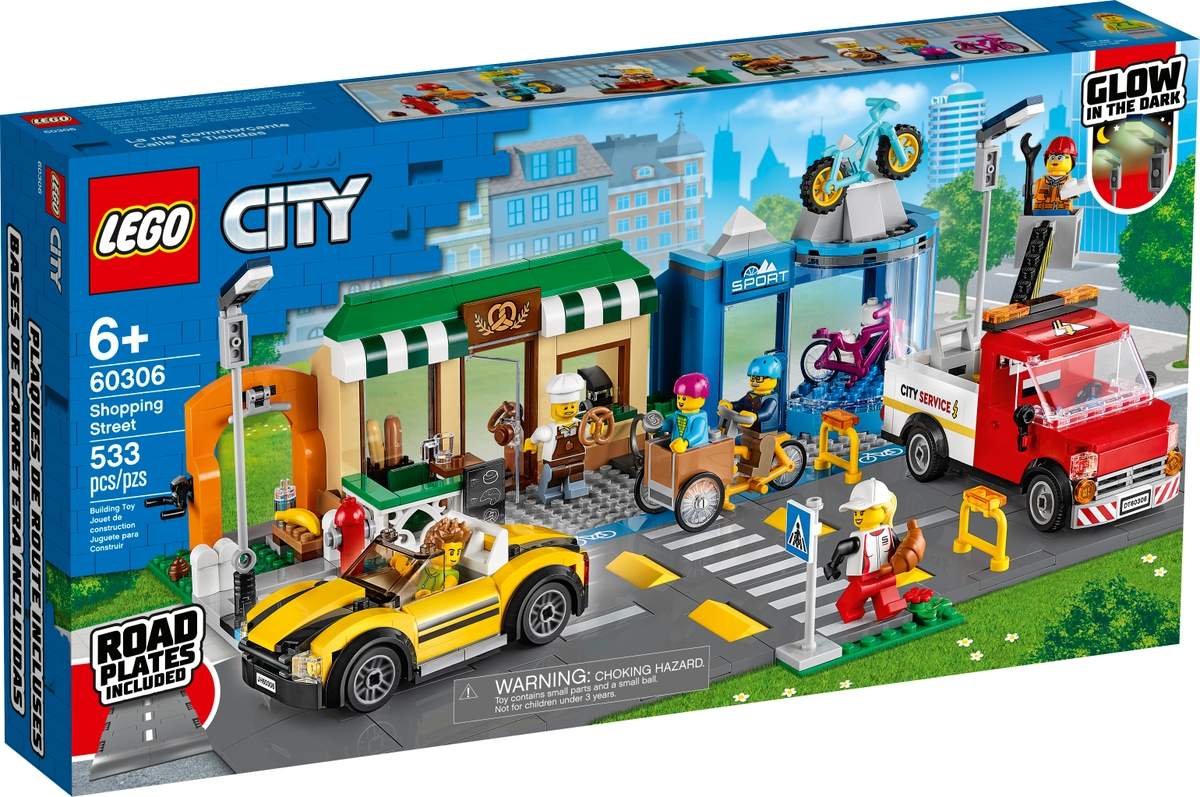 lego 60306 ulice s obchudky