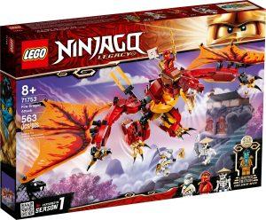 lego 71753 utok ohniveho draka