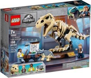 lego 76940 vystava fosilii t rexe
