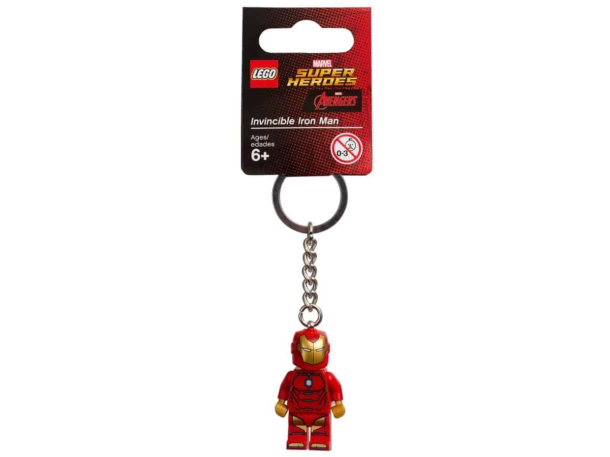 lego 853706 marvel super heroes privesek na klice s neporazitelnym iron manem
