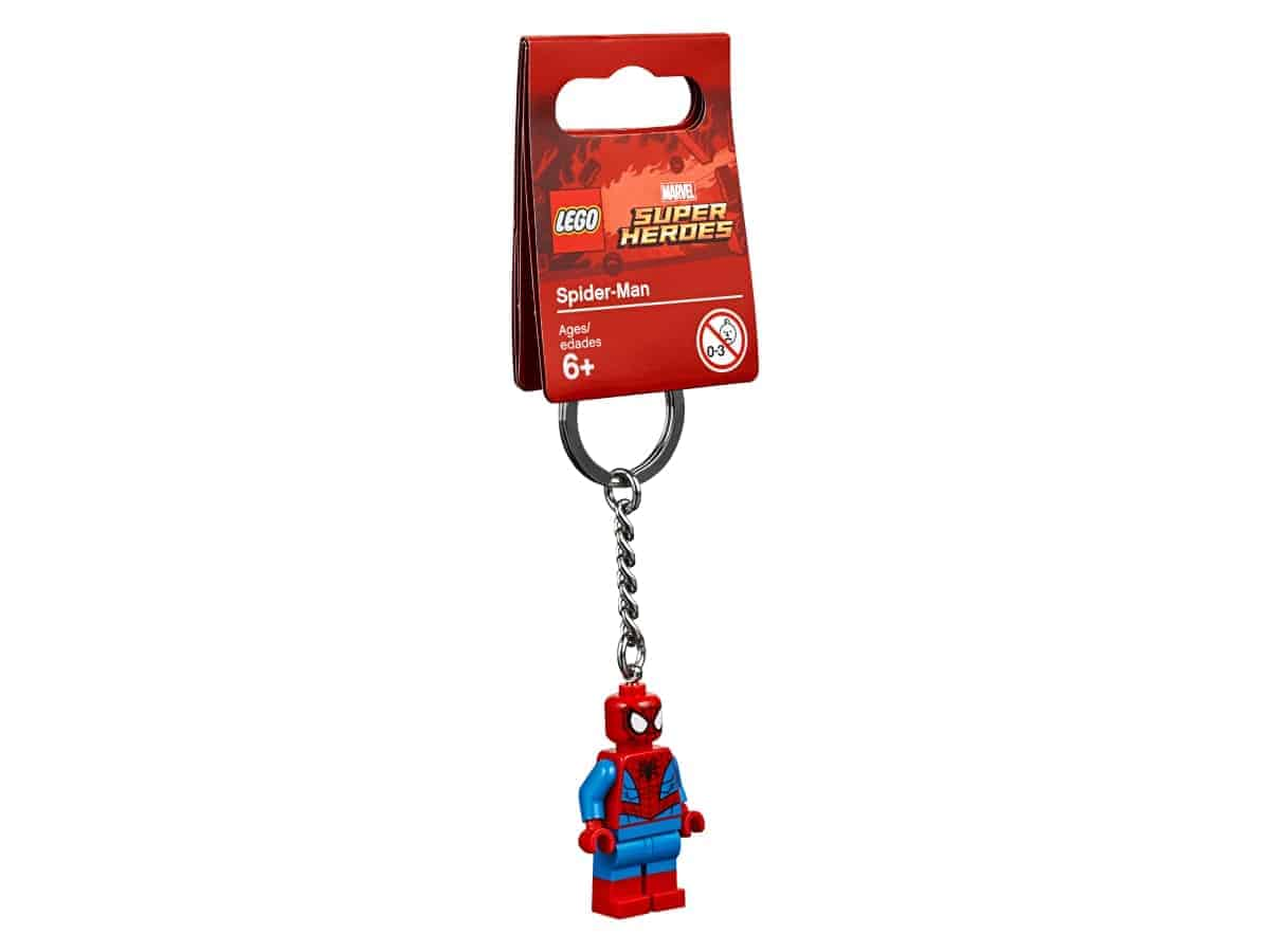 lego 853950 privesek na klice se spider manem
