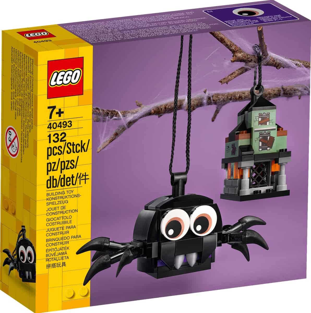 lego 40493 sada pavouka a strasidelneho domu