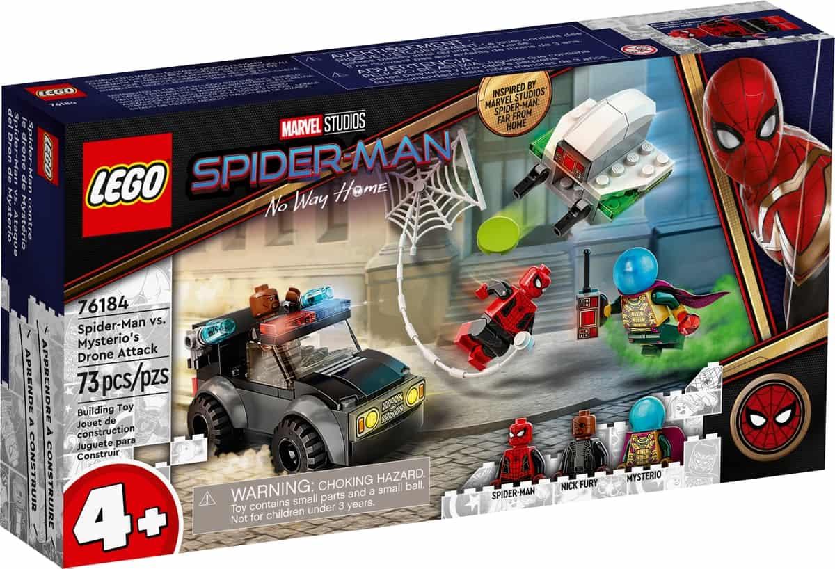 lego 76184 spider man a mysteriuv utok dronem