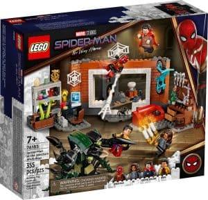 lego 76185 spider man v dilne sanctum