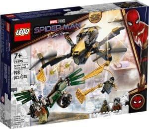 lego 76195 spider man a duel s dronem