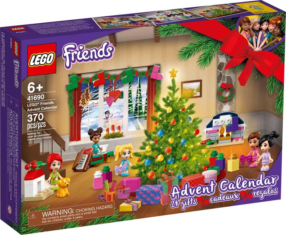 adventni kalendar lego 41690 friends